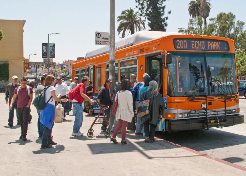 LA_Metro_200_bus_stop_on_Alvarado_Street