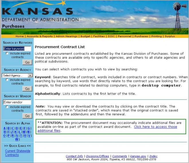 old KS transparency website