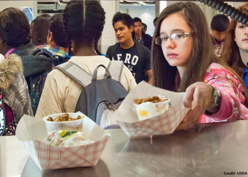 School Breakfast and School Lunch at Washington-Lee High School Arlington, Virginia